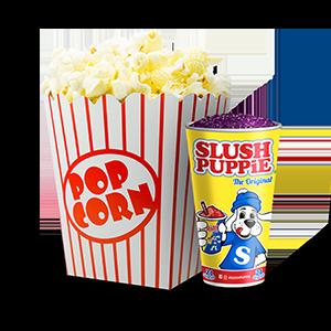 Popcorn + Slushie Image